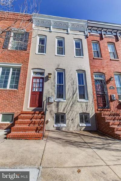 Canton, Federal Hill, Federal Hill Area, Federal Hill;, Federall Hill, Fell Point, Fells Point, Fells Point Upper, Inner Harbor Single Family Home For Sale: 803 East Avenue S