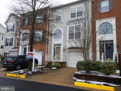 Loudoun County Townhouse For Sale: 21672 Frame Square