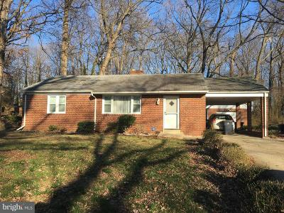 Suitland Single Family Home For Sale: 5108 Oakland Way SE