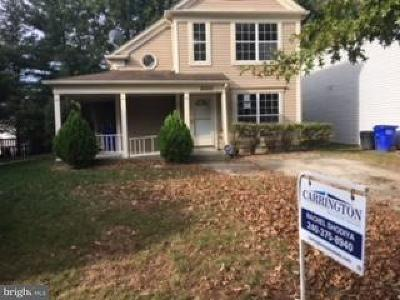 Prince Georges County Single Family Home Under Contract: 15205 Emily Court