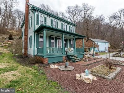 Columbia Single Family Home For Sale: 1550 Water Street