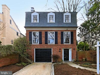 Spring Valley Single Family Home For Sale: 4816 Upton Street NW