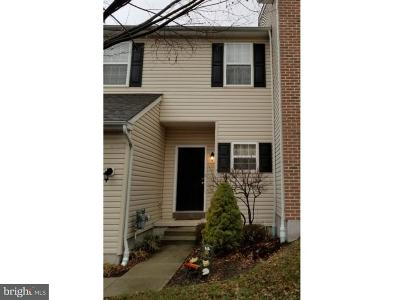 Pottstown Townhouse For Sale: 95 Stone Hill Drive