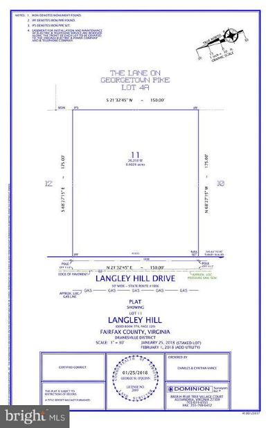 McLean Residential Lots & Land For Sale: 1015 Langley Hill Drive