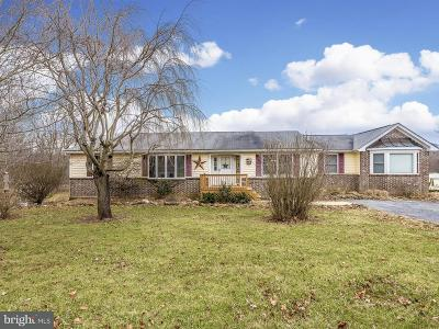 Frederick County Single Family Home For Sale: 12461 Stottlemyer Road