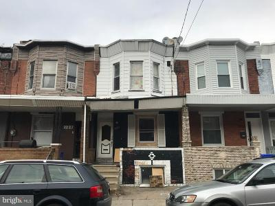 Point Breeze Townhouse For Sale: 2235 Moore Street