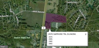 Calvert County, Saint Marys County Residential Lots & Land For Sale: 2970 Sapphire Trail