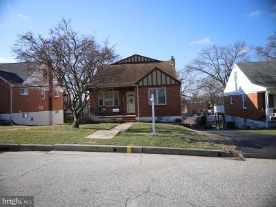 Baltimore Single Family Home For Sale: 317 Savannah Road