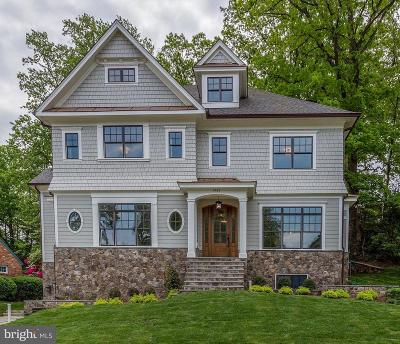 Alexandria City, Arlington County Single Family Home For Sale: 3411 Woodrow Street N