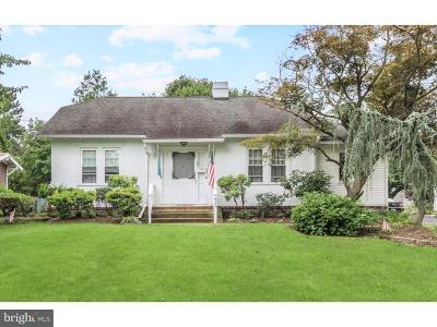 Moorestown Single Family Home For Sale: 422 E 2nd Street