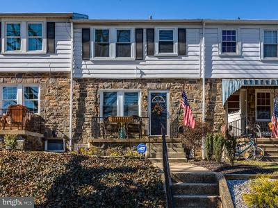 Catonsville Townhouse For Sale: 12 Enjay Avenue