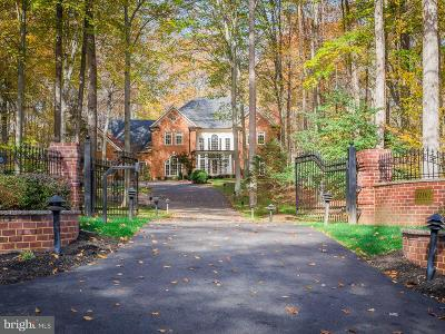 Fairfax Station VA Single Family Home For Sale: $1,800,000