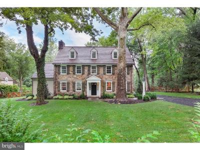 Villanova Single Family Home For Sale: 774 Harrison Road