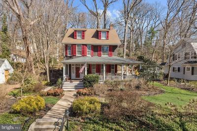 Baltimore Single Family Home For Sale: 5407 Falls Road Terrace