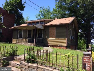 Washington Single Family Home Under Contract: 4406 Eads Street NE