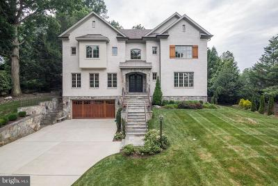 Bethesda MD Single Family Home For Sale: $2,895,000