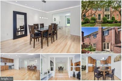 Mclean Townhouse For Sale: 6663 Madison McLean Drive