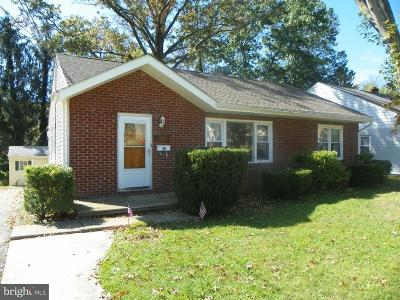 Haddon Township NJ Single Family Home Under Contract: $195,000
