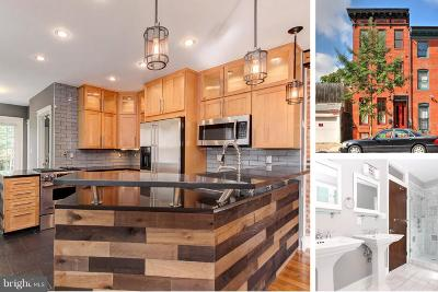 Baltimore City Townhouse For Sale: 18 Wolfe Street S