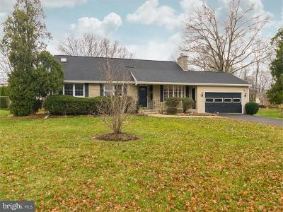 Single Family Home For Sale: 315 Yardley Newtown Road