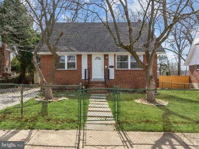 Alexandria City, Arlington County Single Family Home For Sale: 4064 Uline Avenue