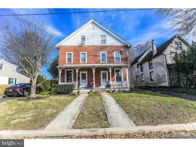 Newtown Single Family Home For Sale: 349 S Lincoln Avenue