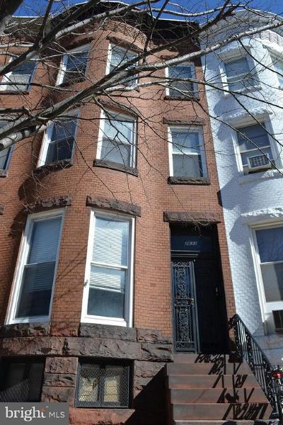 Charles Village Townhouse For Sale: 2633 Charles Street N