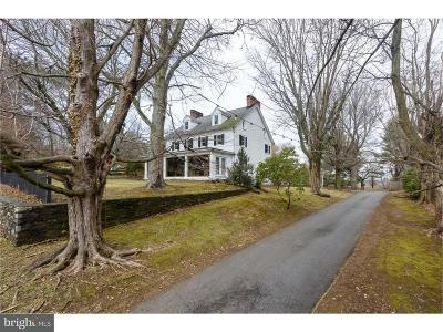 Newtown Square Single Family Home For Sale: 3561 Providence Road