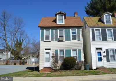 Chestertown Single Family Home For Sale: 531 Cannon Street