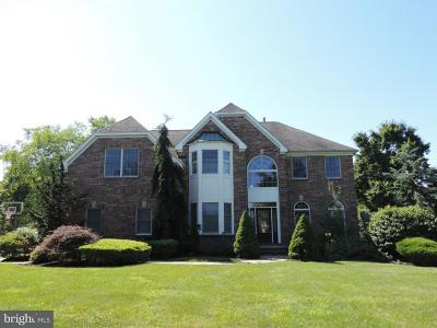Princeton Junction Single Family Home For Sale: 103 S Longfellow Drive