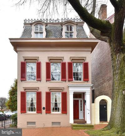 Old Town, Old Town Alexandria Single Family Home For Sale: 500 Duke Street