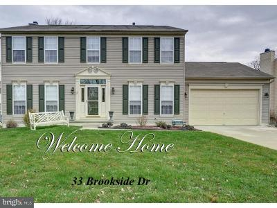 Bordentown Single Family Home For Sale: 33 Brookside Drive