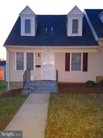 Landover MD Townhouse For Sale: $49,000