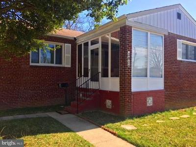 District Heights Single Family Home Active Under Contract: 2816 Viceroy Avenue
