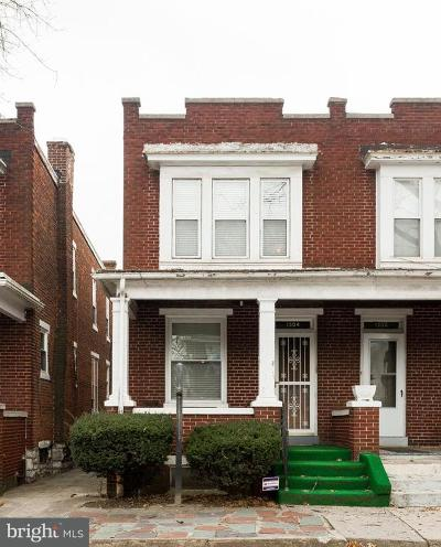 Harrisburg Townhouse For Sale: 1304 N 15th Street