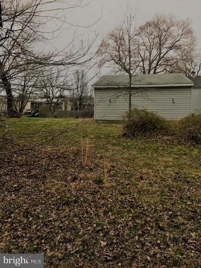 Harford County, Howard County Residential Lots & Land For Sale: Norris Street