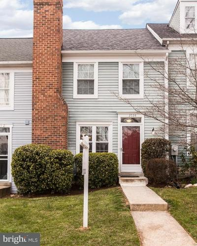 Burtonsville Townhouse Under Contract: 3534 Childress Terrace