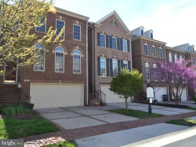Leesburg Townhouse For Sale: 18549 Bear Creek Terrace