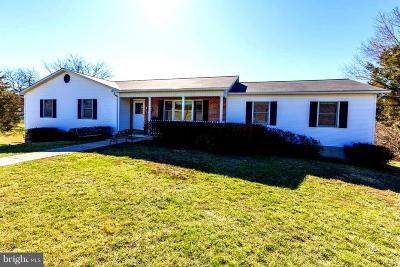 Frederick County Single Family Home For Sale: 1691 Minebank Road