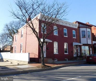 Frederick Multi Family Home For Sale: 605 N Market Street