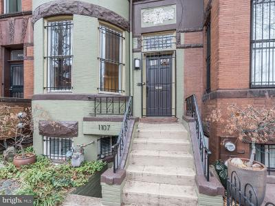 Logan Circle Single Family Home For Sale: 1107 P Street NW