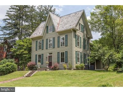 Bucks County Single Family Home For Sale: 9627 Easton Road