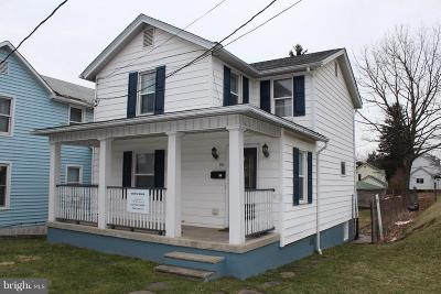 Frostburg Single Family Home For Sale: 90 Bowery Street