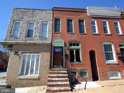 Canton, Federal Hill, Federal Hill Area, Federal Hill;, Federall Hill, Fell Point, Fells Point, Fells Point Upper, Inner Harbor Single Family Home For Sale: 944 East Avenue