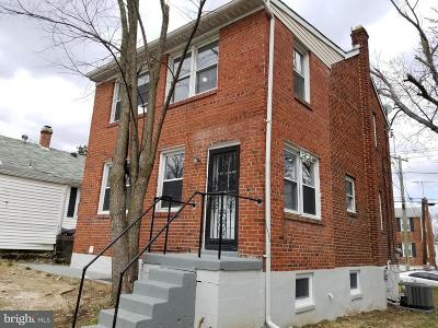 Capitol Heights Single Family Home Active Under Contract: 4103 Vine Street