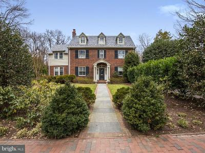 Chevy Chase Single Family Home For Sale: 125 Grafton Street