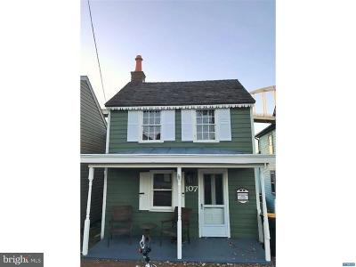 Chesapeake City Single Family Home Active Under Contract: 107 George Street