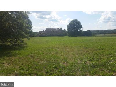 Bucks County Residential Lots & Land For Sale: 1216 Kellers Church Road