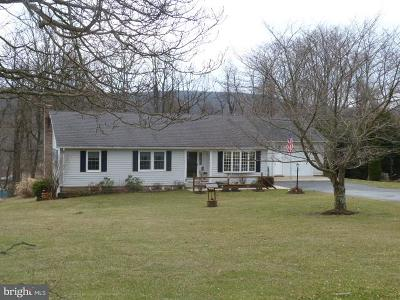 Sabillasville Single Family Home For Sale: 14765 Herman Hauver Road