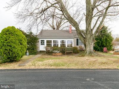 Earleville Single Family Home For Sale: 62 Bluff Road